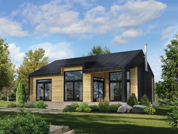 Vacation House Plan, 072H-0262