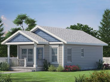 Cottage House Plan, 031H-0402
