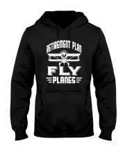 AIRCRAFT Retirement Plan Hooded Sweatshirt tile